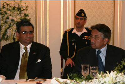 Pakistan President Musharraf at PAKPAC Annual Dinner